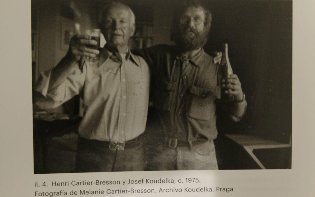 La pequeña 'bronca' de Cartier-Bresson a Koudelka