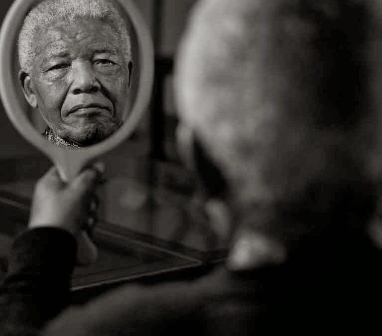 Así se hizo el último retrato de Nelson Mandela