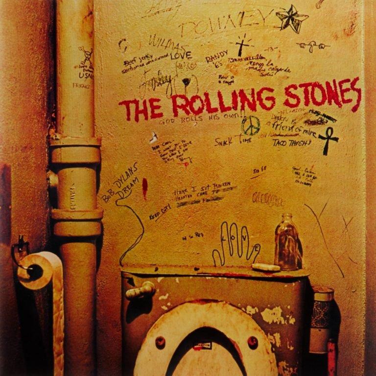 Fotografía que fue portada del disco Beggars Banquet de los Rolling Stones a partir de la década de los 80. Foto: Barry Feinstein.