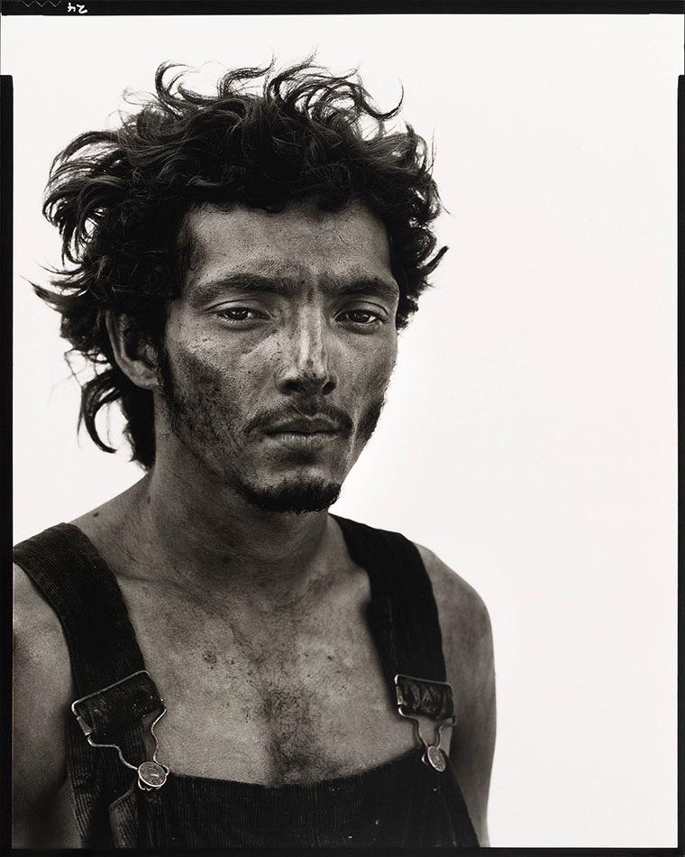 Uno de los retratos incluidos en el libro 'In the American West' de Richard Avedon