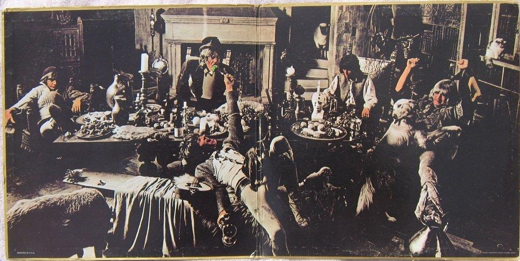 El fotógrafo, el diablo y la banda de rock: la historia tras la foto 'El banquete de los mendigos' de los Rolling Stones
