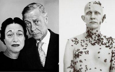 El perro muerto y el enjambre de abejas: los trucos de Richard Avedon en dos de sus retratos más famosos
