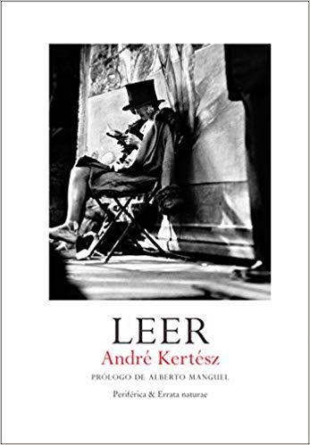 Portada de 'Leer' de André Kertész