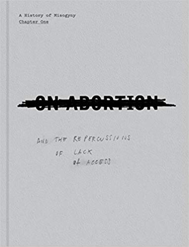 Portada de 'On abortion' de Laia Abril