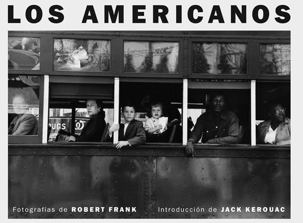 Portada del libro 'Los Americanos' de Robert Frank