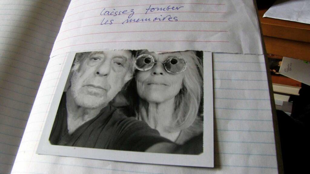 Autorretrato de Robert Frank y June Leaf en un fotograma del documental sobre Robert Frank titulado Don't Blink