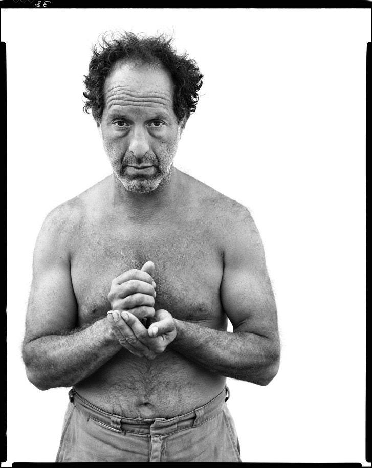 Retrato de Robert Frank autor Richard Avedon