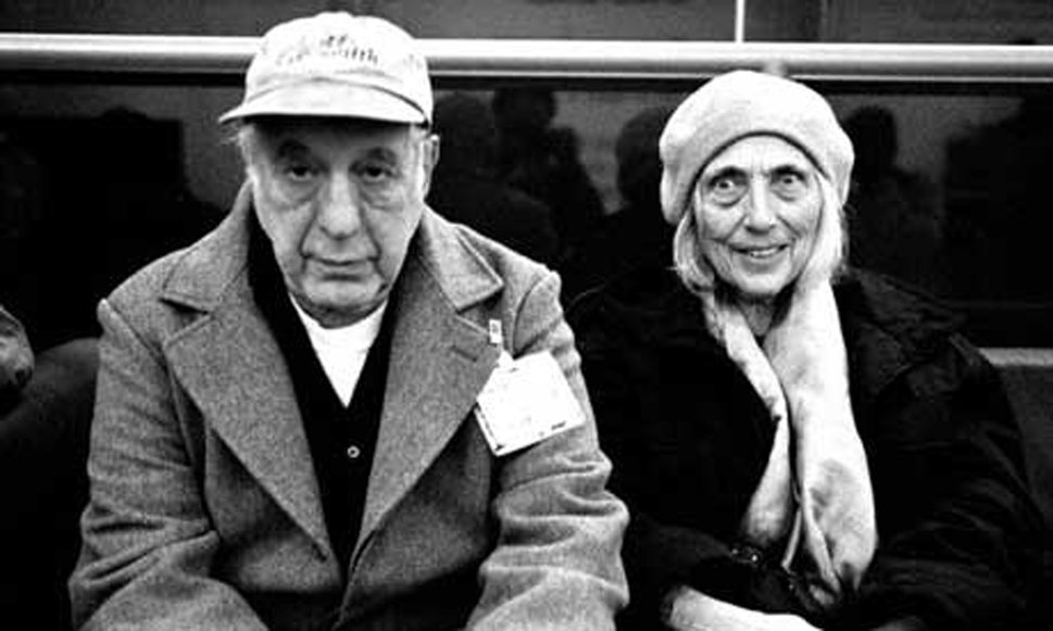 June Leaf y Robert Frank fotografiados por Richard Avedon