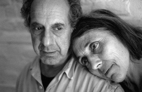 Imagen de Robert Frank y su mujer June Leaf. Foto de  Gundula Schulze-Eldowy