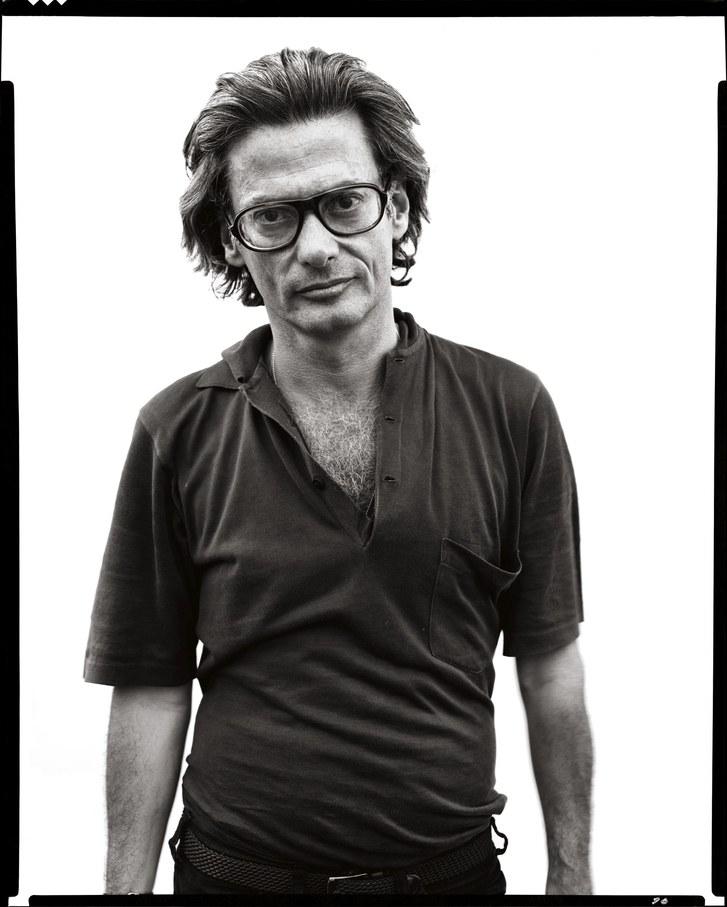 Autorretrato del fotógrafo Richard Avedon en 1975