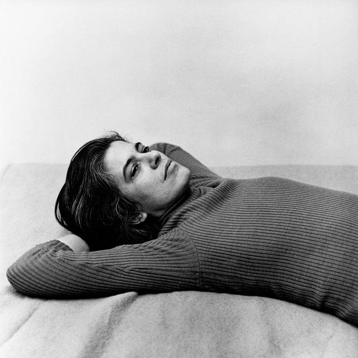 Retrato de Susan Sontag. Foto: Peter Hujar.