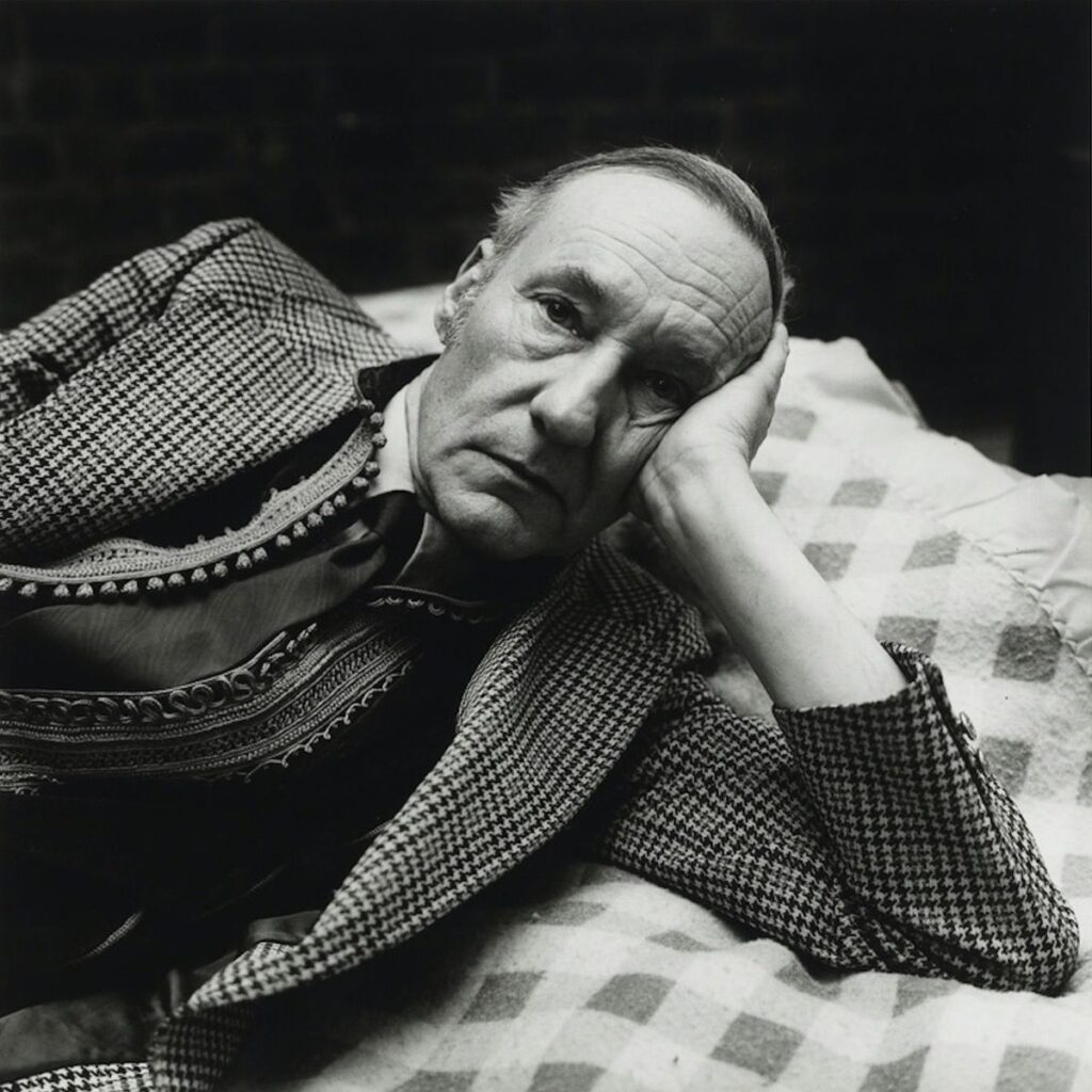 Retrato de William Burroughs. Foto: Peter Hujar.