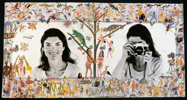 Jacqueline Kennedy Onassis fotografiada por Peter Beard