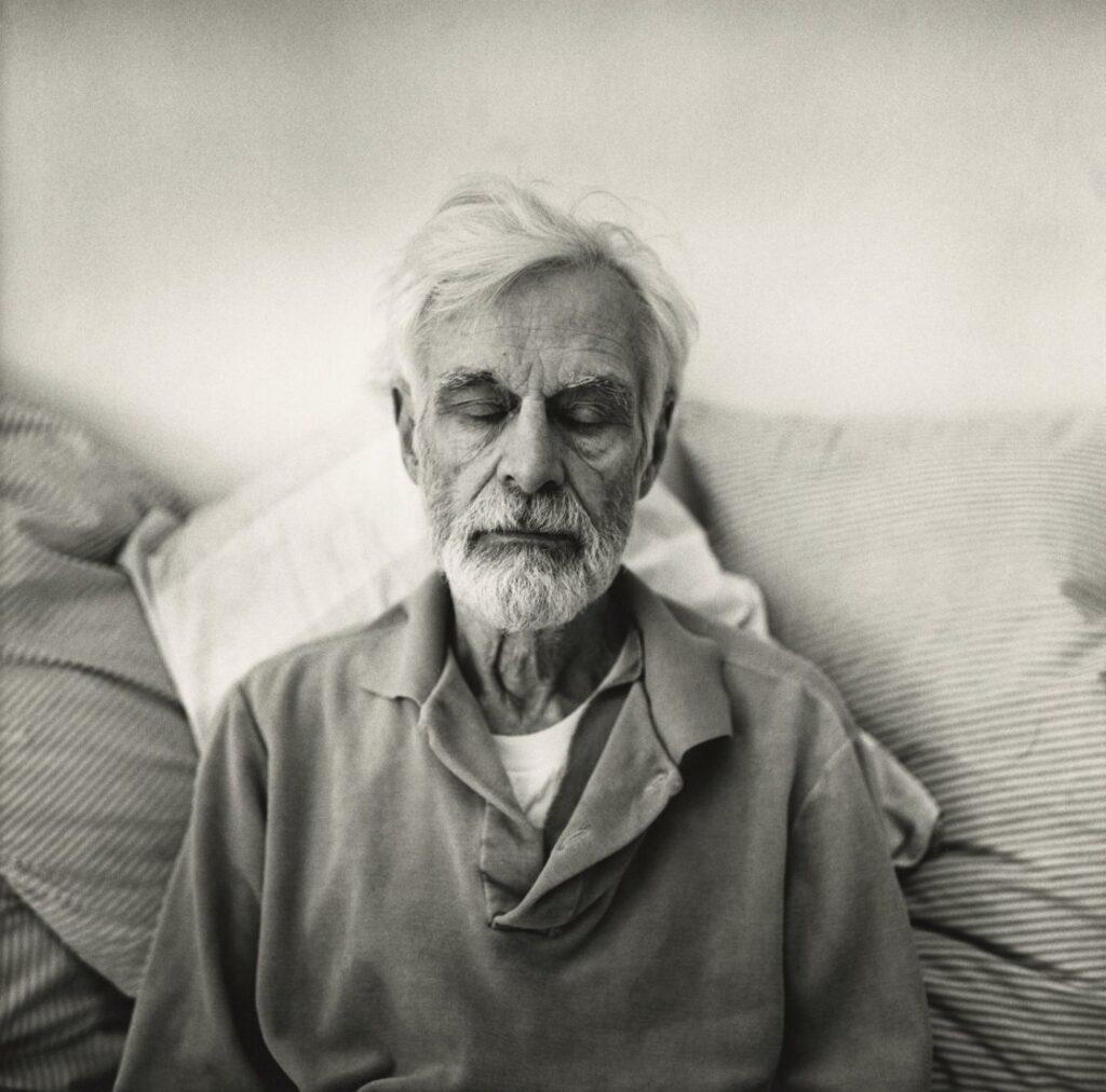 Retrato de Edwin Denby. Foto: Peter Hujar.